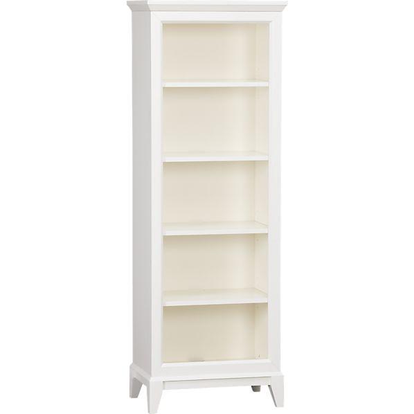 Paterson White Bookcase