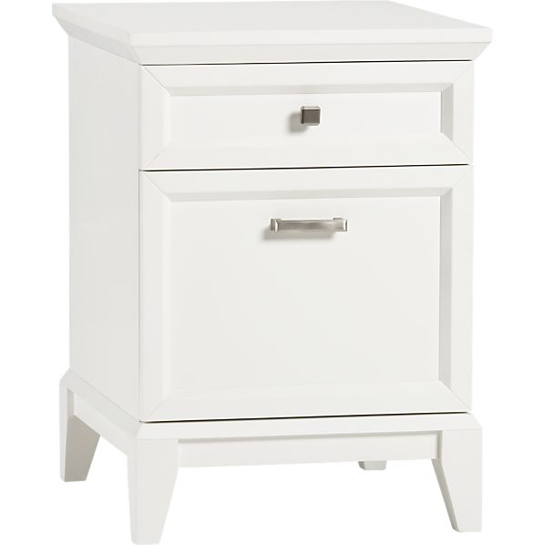 Paterson White Filing Cabinet