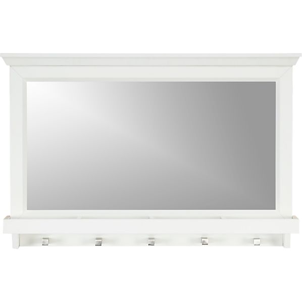Paterson White Wall Mirror
