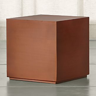 Patina Copper Cube