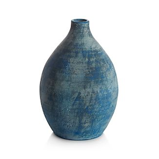 Patina Short Vase