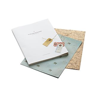 Pattern Wrapping Paper Book