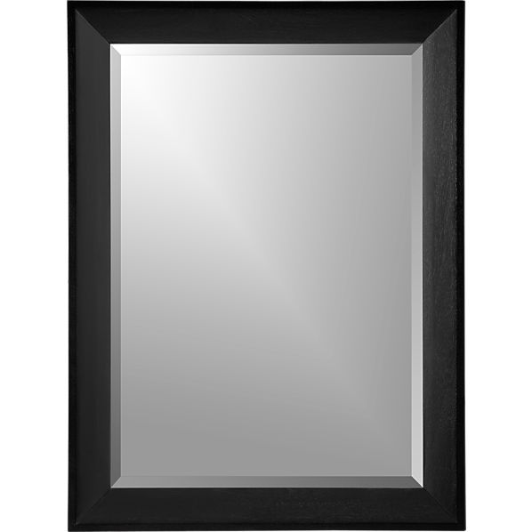 Pavillion Black Wall Mirror