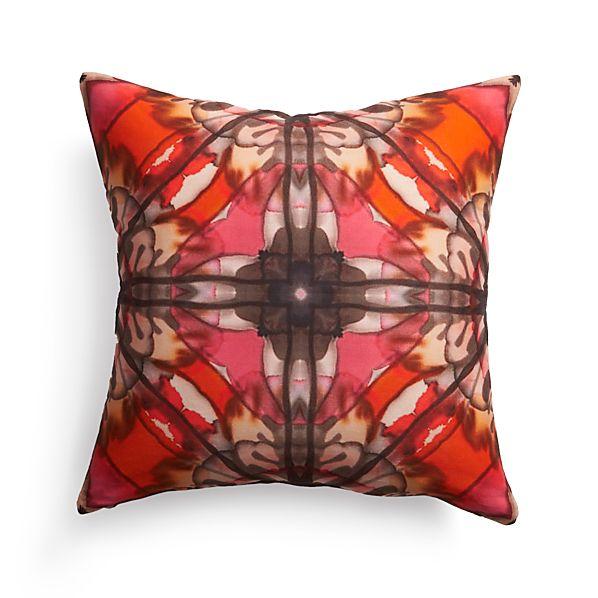 "Paz 18"" Pillow with Down-Alternative Insert"