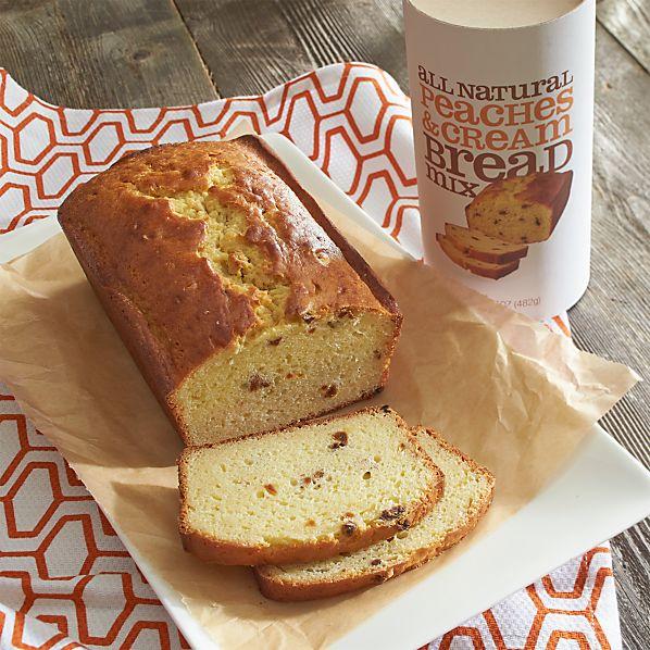 Peaches & Cream Quick Bread Mix