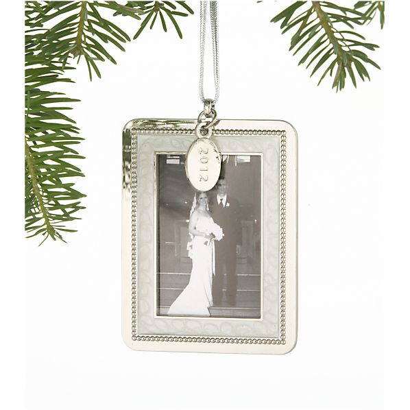 Frame with 2012 Charm Ornament