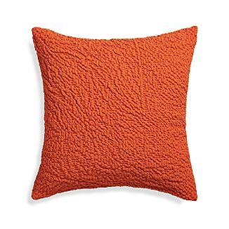 "Pebble Orange 18"" Pillow"