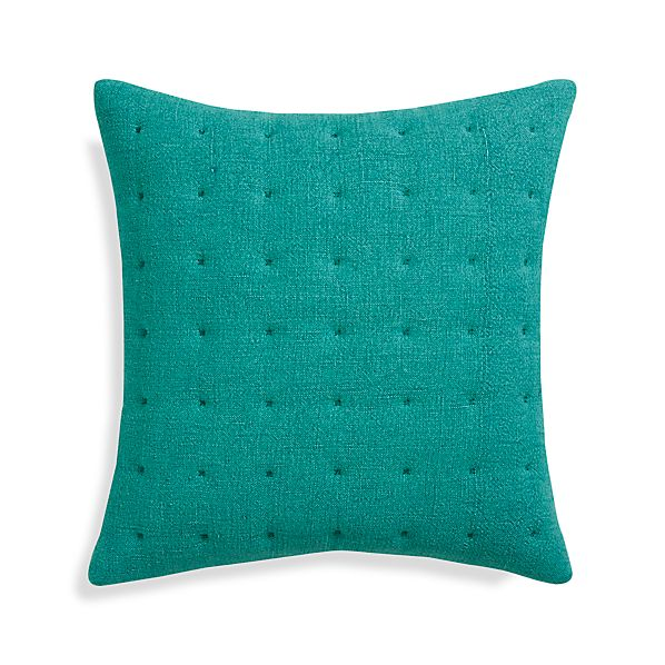 "Pelham Blue 20"" Pillow with Feather Insert"