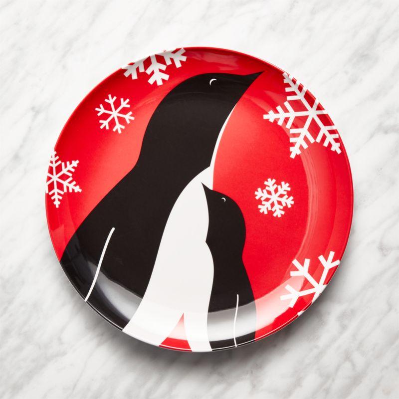 Penguin Melamine Dinner Plate