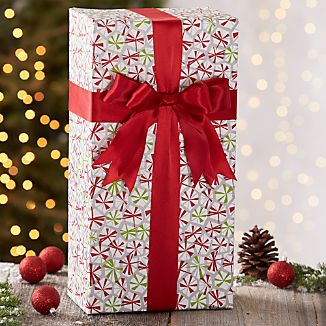 Peppermint Candy Gift Wrap