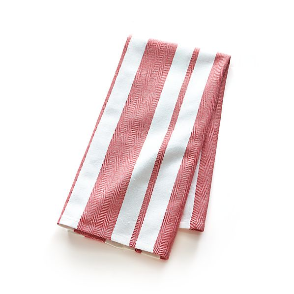 Peppermint Stripe Dishtowel