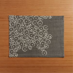 Perla Grey Placemat