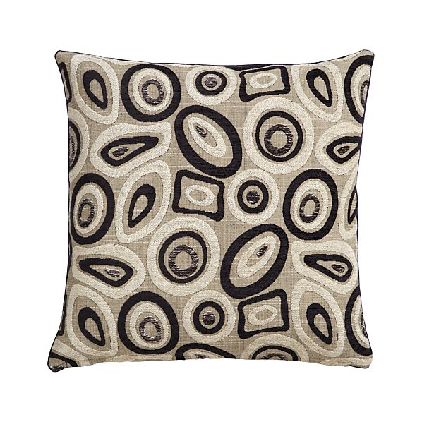 """Perla 20"""" Pillow with Feather-Down Insert"""