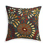 """Pershall 20"""" Pillow with Feather-Down Insert"""