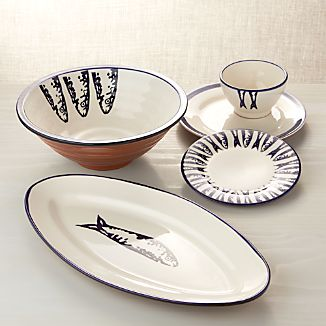 Pescado Dinnerware