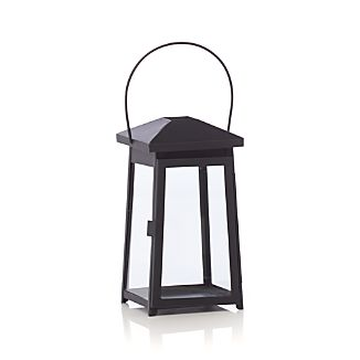 Petaluma Small Black Metal Lantern