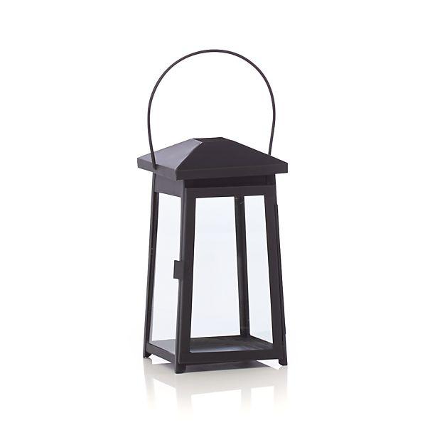 Petaluma Small Black Metal Lantern