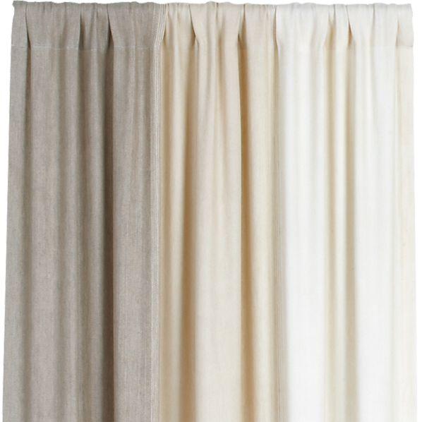 Petra Neutral 50x96 Curtain Panel
