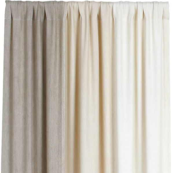 Petra Neutral 50x108 Curtain Panel