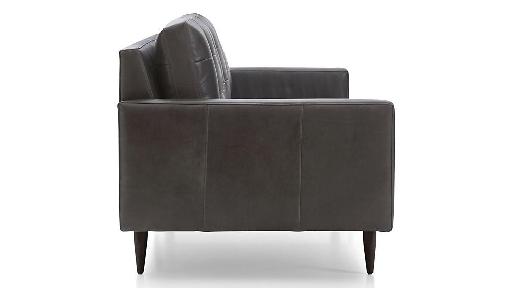 """Petrie Leather 100"""" Grande Sofa"""