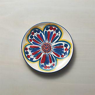 Petula Blue Salad Plate
