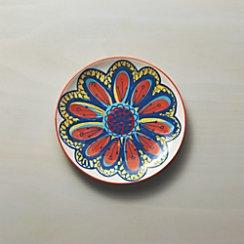 Petula Orange Salad Plate