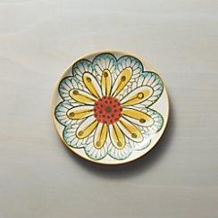 Petula Yellow Salad Plate