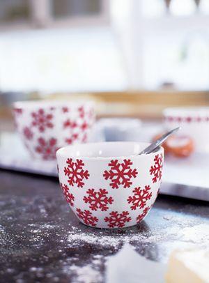 2-Piece Snowflake Ramekins Set