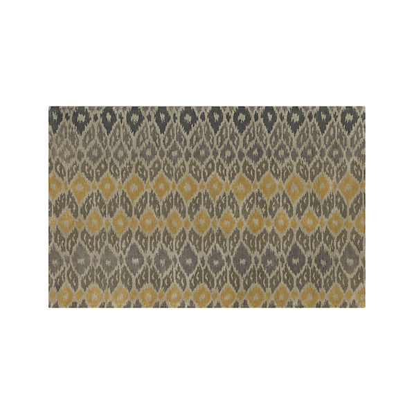 Phila Ikat Wool 5'x8' Rug