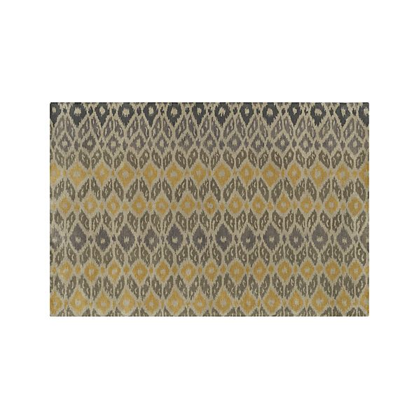 Phila Ikat Wool 6'x9' Rug