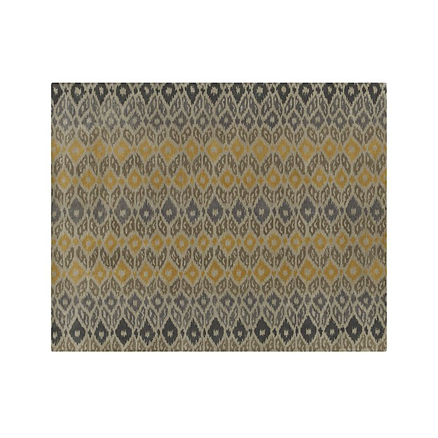 Phila Ikat Wool 8'x10' Rug