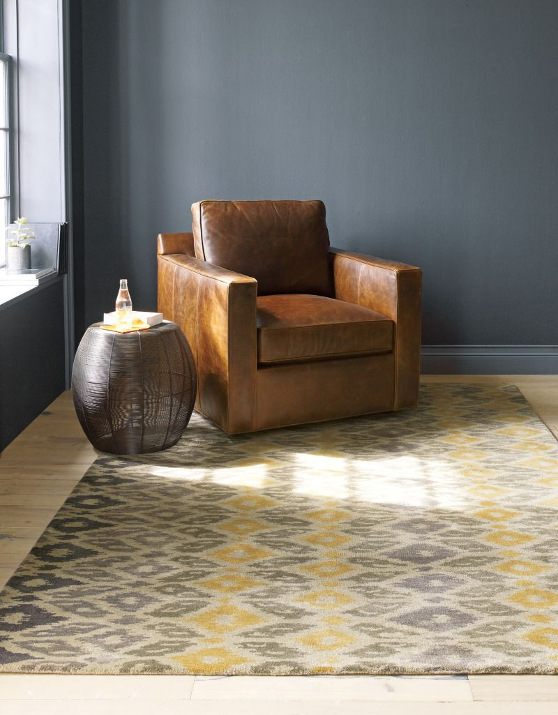 Phila Ikat Wool Rug