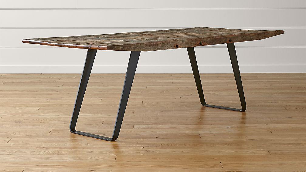 Phoenix 92quot Dining Table Crate and Barrel : Phoenix92DiningTableSHS1516x9 from www.crateandbarrel.com size 1008 x 567 jpeg 67kB