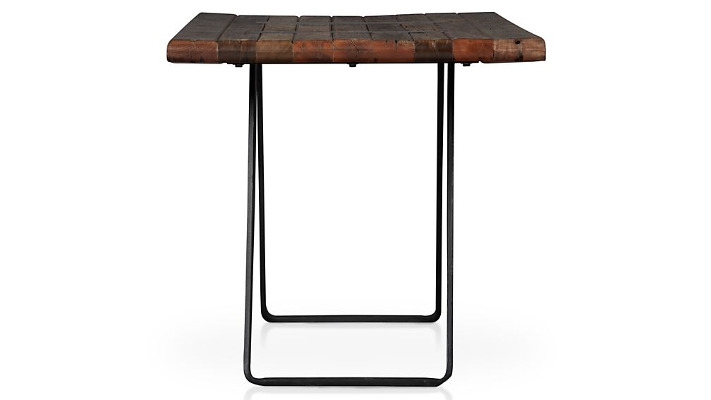 ... Phoenix 72quot Work Table Crate And Barrel ...