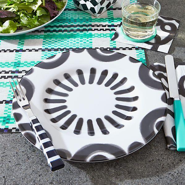 Pic-nic Melamine Arch Rim Dinner Plate