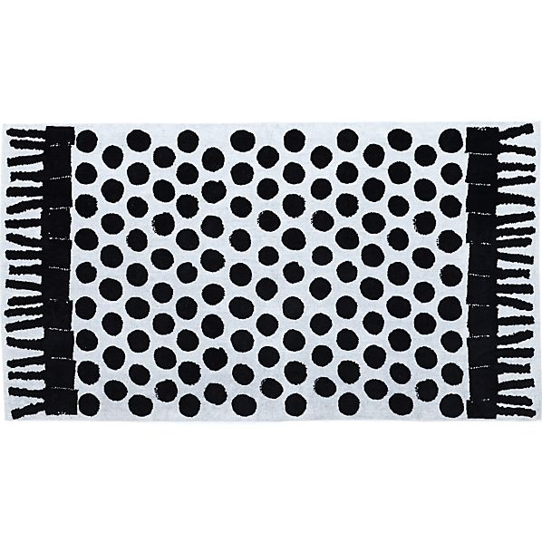Pic-nic Black-White Beach Towel