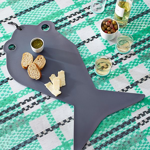 Pic-nic Fish Large Cutting Board