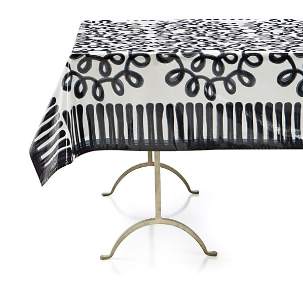 """Pic-nic Squiggle Outdoor 58""""x120"""" Tablecloth"""