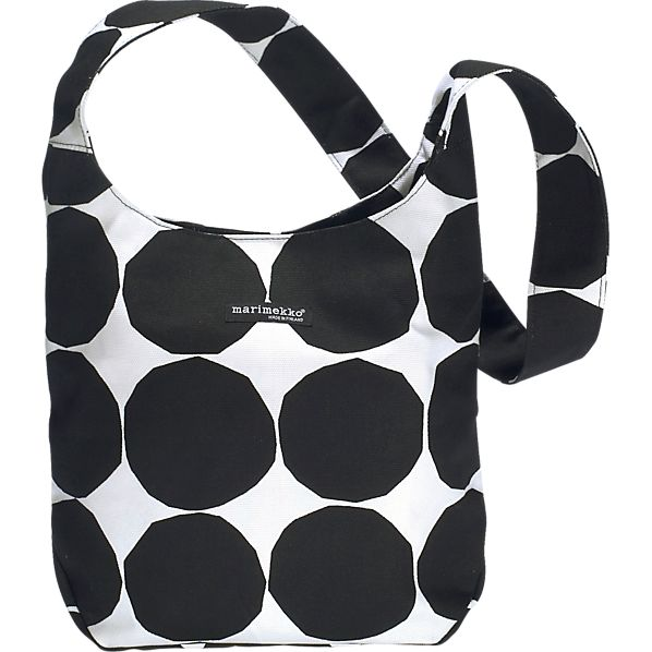 Marimekko Pienet Kivet Kvartsi Black and White Bag