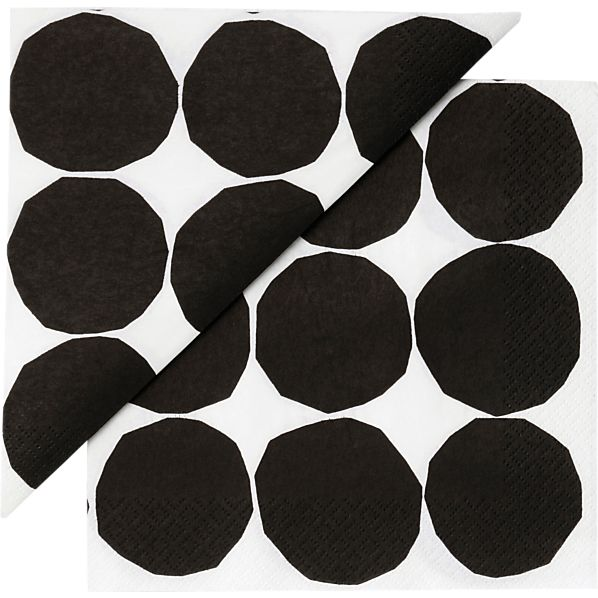 "Set of 20 Marimekko Pienet Kivet Paper 6.5"" Napkins"