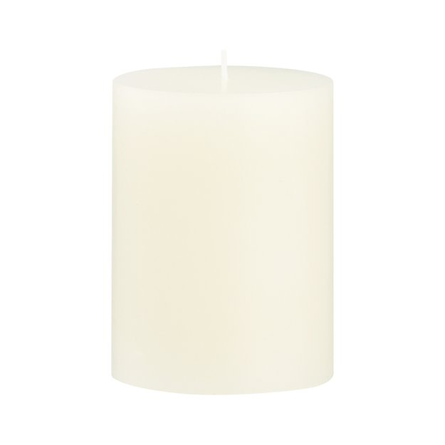 "Ivory 3""x4"" Pillar Candle"