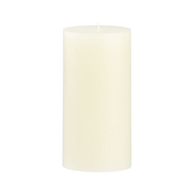"Ivory 3""x6"" Pillar Candle"