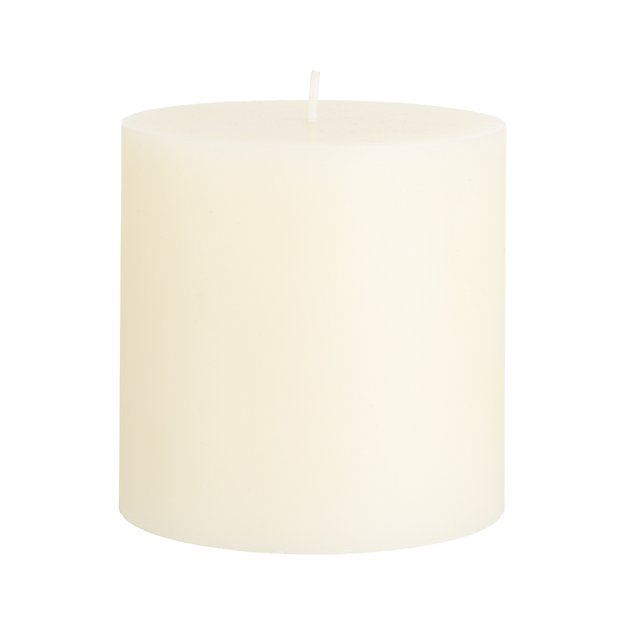 "Ivory 4""x4"" Pillar Candle"