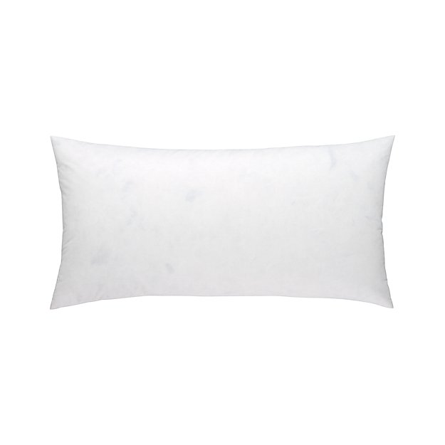 "Feather-Down 24""x12""  Pillow Insert"