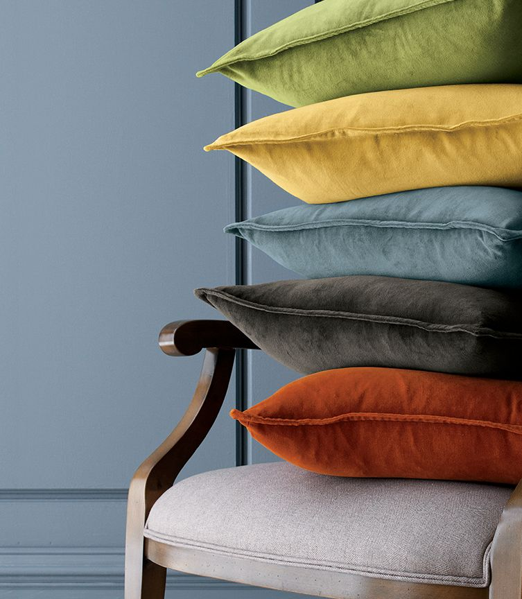 Brenner pillows in many colors