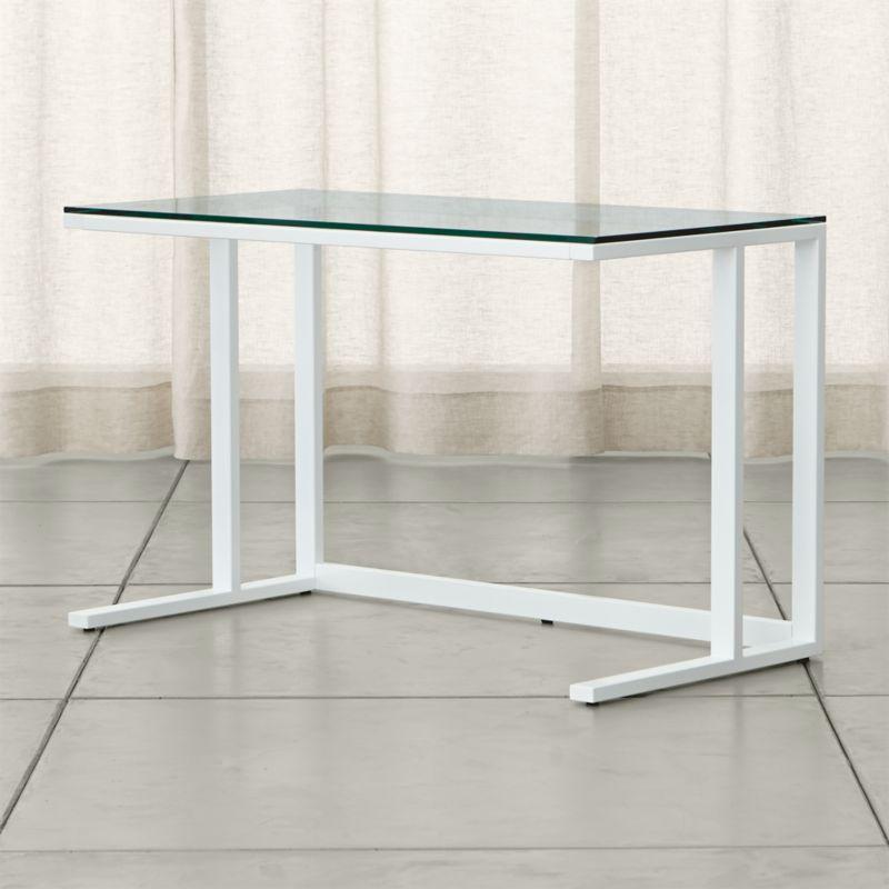 Glass Desks | Crate and Barrel