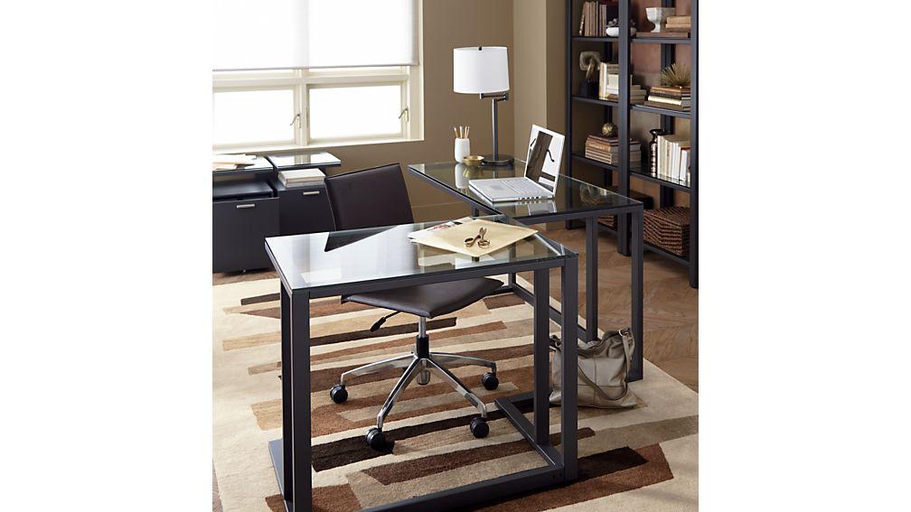 Pilsen Graphite Desk