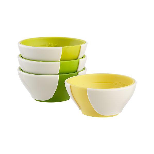 Set of 4 Mini Pinch & Pour Prep Bowls