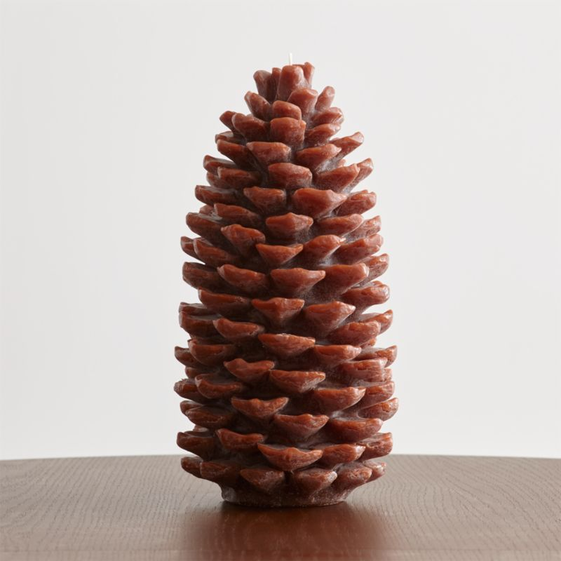 Extra Large Pinecone Candle