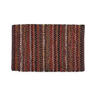 Pinstripe Copper 2'x3' Rug
